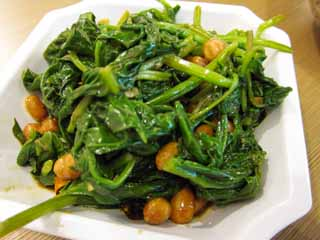photo,material,free,landscape,picture,stock photo,Creative Commons,The fry-up of Chinese food greens, Chinese food, bean, Vegetables, Vegetables of the leaf