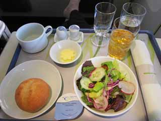 photo,material,free,landscape,picture,stock photo,Creative Commons,An in-flight meal, Bread, Korean food, glass, Rice