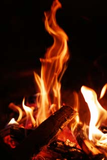 photo,material,free,landscape,picture,stock photo,Creative Commons,Roar of flames, bonfire, fire, firewood, burning