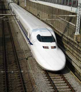 photo,material,free,landscape,picture,stock photo,Creative Commons,The Tokaido Shinkansen, The Shinkansen, 700 system, wish, track