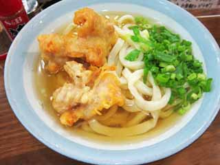 photo,material,free,landscape,picture,stock photo,Creative Commons,Fried chicken udon, Cooking, Food, ,
