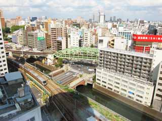 photo,material,free,landscape,picture,stock photo,Creative Commons,Akihabara, Kanda River, Soubu Line, Shohei Bridge,