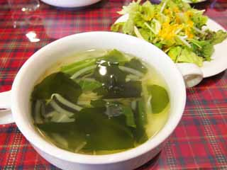photo,material,free,landscape,picture,stock photo,Creative Commons,Seaweed soup, Cooking, Food, ,
