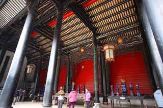 photo,material,free,landscape,picture,stock photo,Creative Commons,Chen Clan Temple, Chinese private industrial arts building, brick sculpture, southern noble, Decoration
