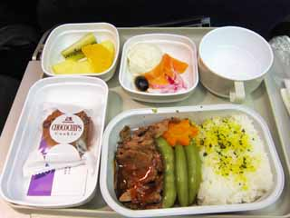 photo,material,free,landscape,picture,stock photo,Creative Commons,An in-flight meal, Cooking, Food, ,