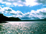 photo,material,free,landscape,picture,stock photo,Creative Commons,Clouds over Lake Shikotsu, Shikotsu, lake, sky, clouds
