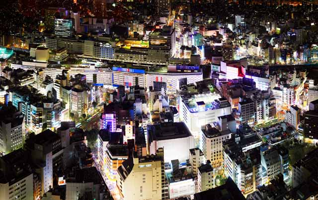 photo,material,free,landscape,picture,stock photo,Creative Commons,Ikebukuro Station, building, Ikebukuro, Neon,