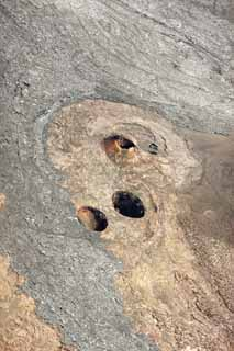 photo,material,free,landscape,picture,stock photo,Creative Commons,Hawaii Island aerial photography, Lava, The crater, crack in the ground, Desert