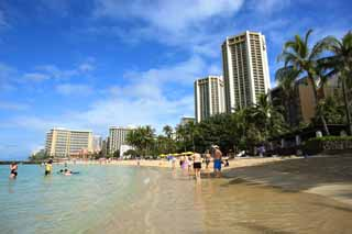 photo,material,free,landscape,picture,stock photo,Creative Commons,Waikiki Beach, , , ,