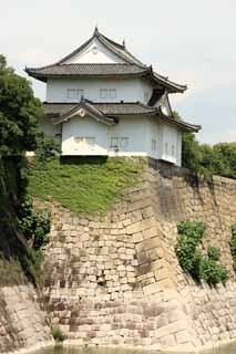 photo,material,free,landscape,picture,stock photo,Creative Commons,Osaka Castle Rokuban turret, , , ,
