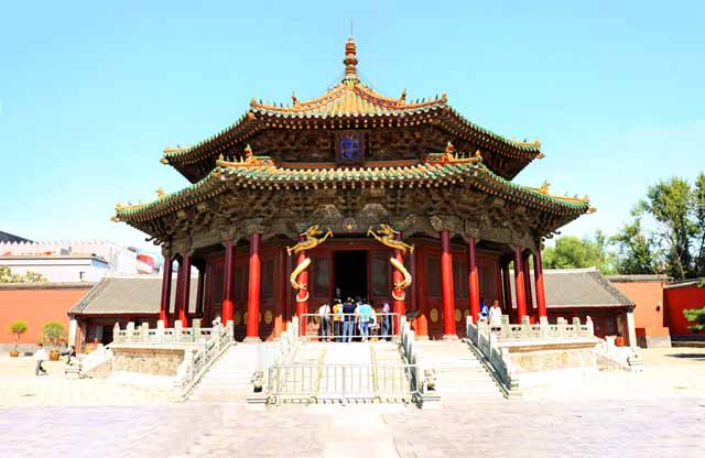 Foto, materiell, befreit, Landschaft, Bild, hat Foto auf Lager,Shenyang Imperial Palace Taisei-dono, , , ,