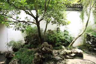photo,material,free,landscape,picture,stock photo,Creative Commons,Lingering Garden courtyard, , , ,