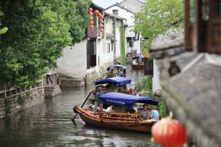 photo,material,free,landscape,picture,stock photo,Creative Commons,Zhouzhuang, , , ,