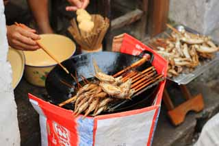 photo,material,free,landscape,picture,stock photo,Creative Commons,Fried fish of Zhouzhuang open pit, , , ,