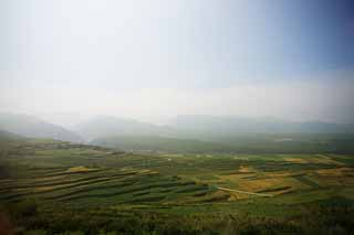 photo,material,free,landscape,picture,stock photo,Creative Commons,Terraced fields, , , ,