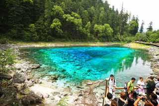 photo,material,free,landscape,picture,stock photo,Creative Commons,Jiuzhaigou five colors pond, , , ,