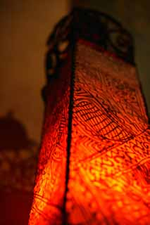 photo,material,free,landscape,picture,stock photo,Creative Commons,Mexican style lantern, lighting, interior, red, light
