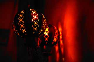 photo,material,free,landscape,picture,stock photo,Creative Commons,Mexican style lights, lighting, interior, light, red