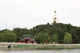 photo,material,free,landscape,picture,stock photo,Creative Commons,Beihai Park, , , ,
