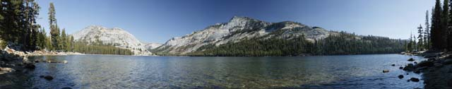 photo,material,free,landscape,picture,stock photo,Creative Commons,Considerable Tenaya lake, pond, lake, Cold water, Panoramcomposition