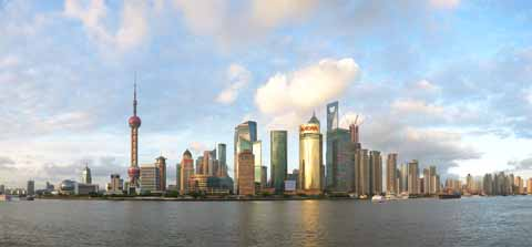 photo,material,free,landscape,picture,stock photo,Creative Commons,A panoramic view of Shanghai Pudong, , , ,