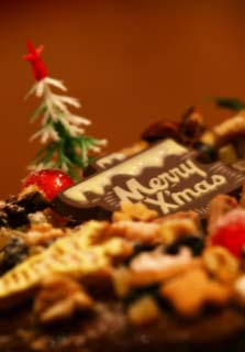 photo,material,free,landscape,picture,stock photo,Creative Commons,Christmas cake, Sugar, Christmas tree, Chocolate, cake