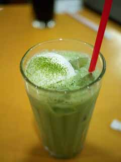 photo,material,free,landscape,picture,stock photo,Creative Commons,Ice Matcha, , , ,