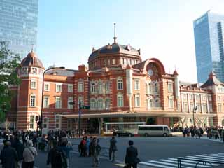 photo,material,free,landscape,picture,stock photo,Creative Commons,Tokyo Station, , , ,