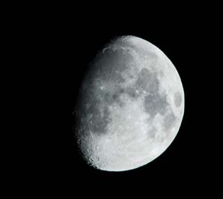 photo,material,free,landscape,picture,stock photo,Creative Commons,The moon, The moon, crater, night sky, rabbit