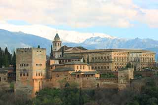 photo,material,free,landscape,picture,stock photo,Creative Commons,Alhambra Palace, , , ,