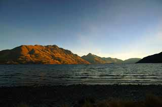 photo,material,free,landscape,picture,stock photo,Creative Commons,Lake Wakatipu, , , ,