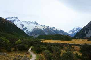 photo,material,free,landscape,picture,stock photo,Creative Commons,Mount Cook, , , ,