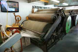 photo,material,free,landscape,picture,stock photo,Creative Commons,Wool processing machine, , , ,