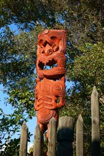 photo,material,free,landscape,picture,stock photo,Creative Commons,Maori carvings, , , ,