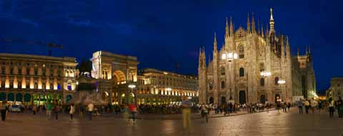 photo,material,free,landscape,picture,stock photo,Creative Commons,A view of the Duomo of Milan, , , ,