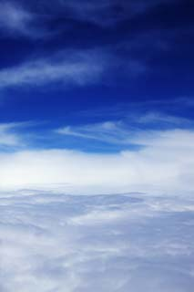 photo,material,free,landscape,picture,stock photo,Creative Commons,It is a blue sky in a sea of clouds, seof clouds, The stratosphere, blue sky, cloud