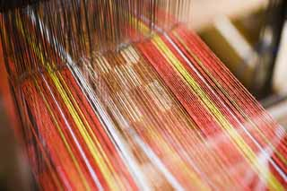 photo,material,free,landscape,picture,stock photo,Creative Commons,A mincer texture, textile, , thread, weaving machine