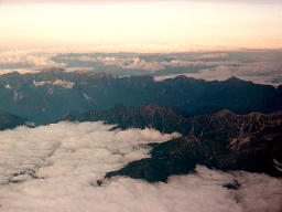 photo,material,free,landscape,picture,stock photo,Creative Commons,Mt. Tateyama from the sky, mountain, cloud, ,