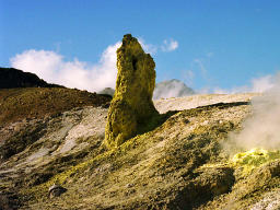 photo,material,free,landscape,picture,stock photo,Creative Commons,Tower of sulfur, mountain, sulfur, ,