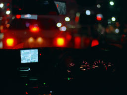 photo,material,free,landscape,picture,stock photo,Creative Commons,Midnight Cruising, car, taillight, ,