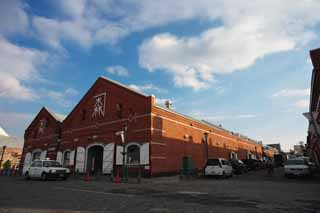 photo,material,free,landscape,picture,stock photo,Creative Commons,A red brick warehouse, red brick, warehouse, The history, port