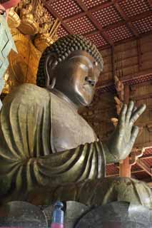 photo,material,free,landscape,picture,stock photo,Creative Commons,A great statue of Buddha of Nara, Bronze, great statue of Buddha, Buddhism, Buddhist image