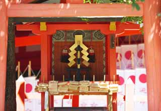 photo,material,free,landscape,picture,stock photo,Creative Commons,Tsubakimoto Shrine, Shinto, Shinto shrine, paper appendix, bunch