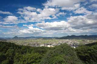 photo,material,free,landscape,picture,stock photo,Creative Commons,The view from Kompira-san Shrine, Kagawa, view, , Shinto