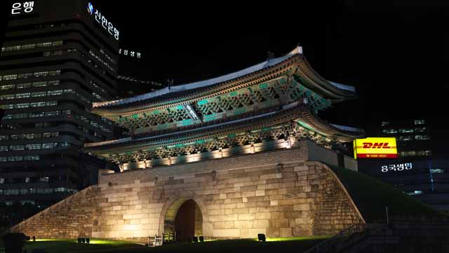 photo,material,free,landscape,picture,stock photo,Creative Commons,Namdaemun, castle gate, Namdaemun, Namdaemun, Han Castle