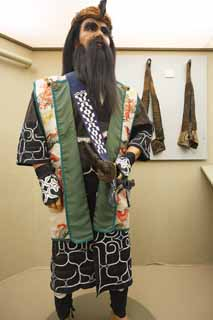 photo,material,free,landscape,picture,stock photo,Creative Commons,The folk costume of Ainu, pattern, jacket, Embroidery, Ainu