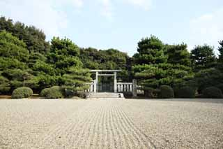 photo,material,free,landscape,picture,stock photo,Creative Commons,Emperor Chokei Saga Dongling, Sky Imperial mausoleum, grave, North and south morning,