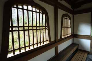 photo,material,free,landscape,picture,stock photo,Creative Commons,Tenryu-ji flower head window, Chaitya, skylight, world heritage, Sagano