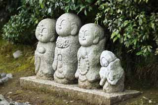 photo,material,free,landscape,picture,stock photo,Creative Commons,Guardian deity of children, Buddhist image, guardian deity of children, stone statue, Sagano