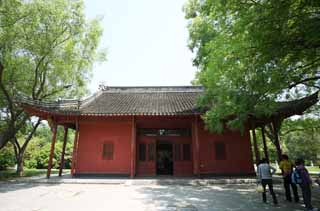 photo,material,free,landscape,picture,stock photo,Creative Commons,Ming Xiaoling Mausoleum Toru, Tomorrow morning, I am painted in red, The first emperor, world heritage
